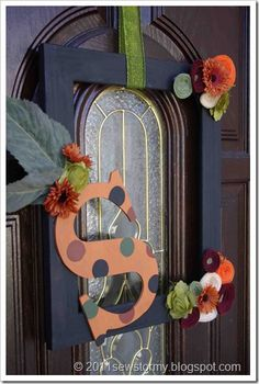 Day 11 – Decorate your doors - The Frugal Homemaker