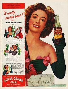 Christmas with Joan Crawford  Royal Crown Cola 1944