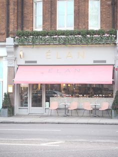 London Cafe Series: Élan, South Kensington | Aine Tagon