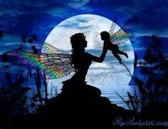 Fairy with baby fairy
