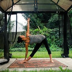 September is National Yoga Month! Cayla shows Medifast some easy poses to improve flexibility, strength, and posture.