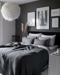 Luxury Bedroom Sets, Luxurious Bedrooms, Romantic Bedrooms, Room Ideas Bedroom, Home Decor Bedroom, Bedroom Furniture, Bedroom Designs, Ikea Bedroom, Grey Bedroom Design