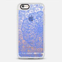 Cornflower Blue Transparent Lace - New Standard Pastel Case