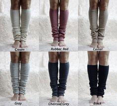 Soft Comfy Leg Warmers - Women Legwarmers - Leg Warmer - Boot Leg Warmer
