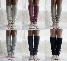 Soft Comfy Leg Warmers - Women Legwarmers - Leg Warmer - Boot Leg Warmer
