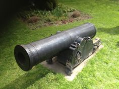 Garrison cannon in a small park in Kinderhook, NY