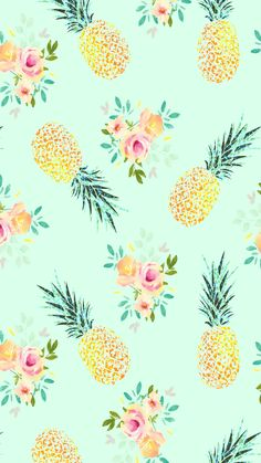 Free Phone Wallpapers And Backgrounds - Cute Pineapple Backgrounds<br> Iphone Wallpaper Pineapple, Pineapple Backgrounds, Cute Wallpaper Backgrounds, Screen Wallpaper, Cute Wallpapers, Iphone Wallpapers, Backgrounds Free, Pretty Phone Backgrounds, Aztec Wallpaper