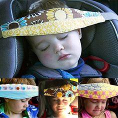 Marca al por mayor Nuevos Bebés Y Soporte para La Cabeza Del Bebé del Cochecito de niño del Asiento de Seguridad Cinturón De Sujeción Ajustable Corralitos Posicionador Del Sueño