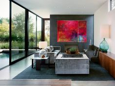 original_summers-morning-red-abstract-canvas-art.jpg (900×675)