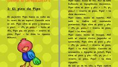 Cuentos fonemas letra i El pico de Pipo