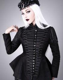 Veste gothique femme RESTYLE type militaire