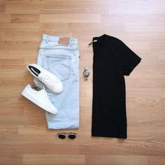 100 Best Smart Casual Outfit Ideas for Men This Year - The Hust Best Smart Casual Outfits, Mens Casual Dress Outfits, Smart Outfit, Stylish Mens Outfits, Cool Outfits For Men, Stylish Clothes, Casual Shoes, Outfit Grid, Men Style Tips