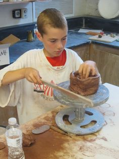 Ceramics Classes were offered from grades 2-12 this year!