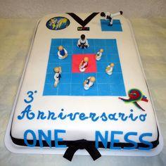 Taekwondo Cake for Oneness anniversary