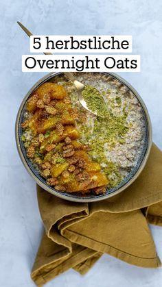 Porridge Oats, Fall Recipes, Oatmeal, Curry, Pumpkin, Snacks, Cooking, Healthy, Breakfast