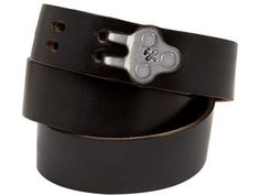 a handmade Billy Kirk claw buckle belt