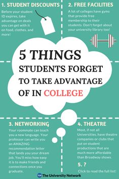 5 Things Students Forget To Take Advantage of In College Take note of all the great things colleges offer but students forget to take advantage of! College Snacks, College Life Hacks, College Classes, Life Hacks For School, School Study Tips, College Fun, College Dorms, Education College, Health Education