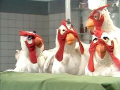 Veterinarian's Hospital, Piggy, Rowlf, Janice and the patient are all chickens