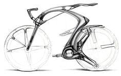 Peugeot B1K Concept Design Sketch by Olivier Gamiette
