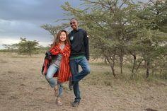 Meet Maasai warriors along your journey.