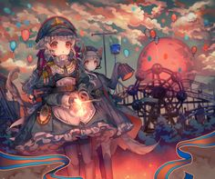 Anime, manga, and video game fan-art artworks from Pixiv (ピクシブ) — a Japanese online community for artists. pixiv - It's fun drawing! 5 Anime, Anime Angel, Anime Love, Loli Kawaii, Kawaii Art, Kawaii Anime, Manga Girl, Anime Art Girl, Totoro