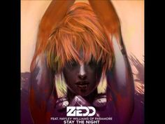 ZEDD ft. Hayley Williams (of Paramore) - Stay The Night I LOVE her voice!!!
