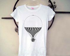 Hot Air Balloon Tee Shirt