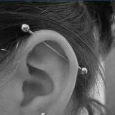 industrial piercing | Tumblr