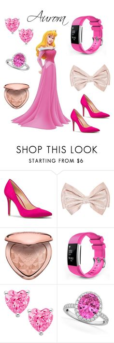 """""""Modern Disney Princess Aurora!"""" by sophia-wow ❤ liked on Polyvore featuring MICHAEL Michael Kors, Too Faced Cosmetics, Allurez and modern"""