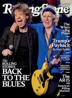 Rolling Stones on the December 1, 2016 cover.