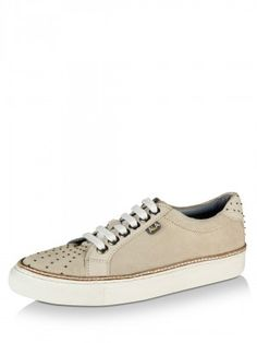 8c34b79d0e AKA Micro-Studded Plimsolls Designed By PATRICK COX For KOOVS Mens Shoes  Online