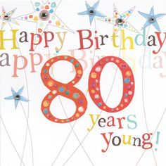 65 Best 80th Birthday Images