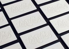 Hungry Workshop : Glow-in-the-dark Letterpress