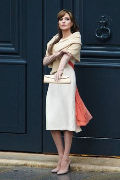 Angelina Jolie in The Tourist...another movie where I would love to have that wardrobe!