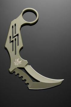 Bawidamann Blades Skelotonized Karambit