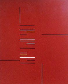 Sem Título 1956 | Aluísio Carvão óleo sobre tela 46.00 x 38.00 cm
