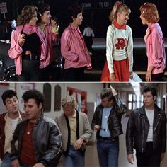 Group Halloween Costumes - Grease