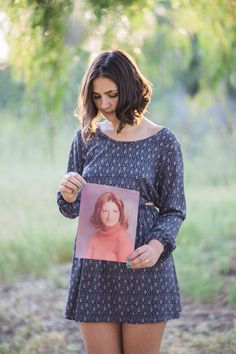 Senior portraits: Paying respect to mom <3