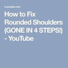 133c792ce8 How to Fix Rounded Shoulders (GONE IN 4 STEPS!)