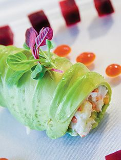 Lobster Salad Avocado Roll