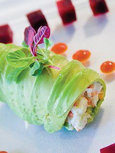 Lobster Salad Avocado Roll