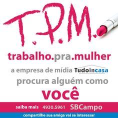 Campanha redes sociais em Facebook contratação Tudo in casa. http://www.tudoincasa.com.br http://www.miolodigital.com.br