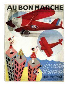 Une institution : les catalogues de Noel du Bon Marché. - Ribambelles & Ribambins