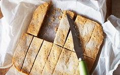 """The WI's ultimate shortbread recipe. """"The ladies of the Women's Institute pride themselves on their shortbread. Easy Recipe To Make At Home, Food To Make, Tray Bake Recipes, Baking Recipes, Cake Recipes, Blueberries, British Cake, Afternoon Tea Recipes, Shortbread Recipes"""