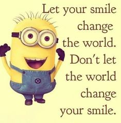 from Minion's FB page.  Discover your reason to smile...and don't let the church change it...EVER!  Blessings...and Laugh!