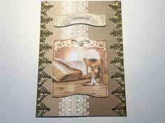 Glückwunschkarten - Karte Konfirmation Nr. 545 - ein Designerstück von MM-Bastelparadies bei DaWanda