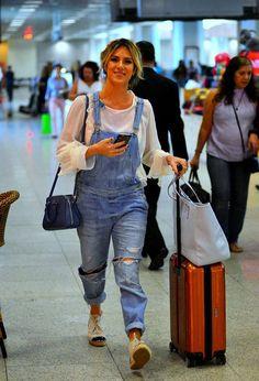Giovanna Ewbank look aeroporto
