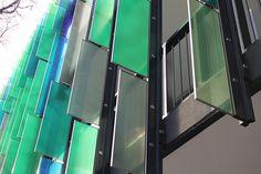 St. John's Place, North Melbourne, Australia using SentryGlas® Expressions™ decorative PVB interlayer ©DigiGlass