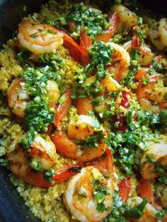 Chimichurri Shrimp With Quinoa - Hispanic Kitchen