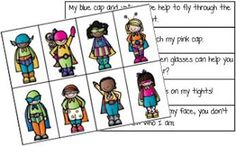 Classroom Freebies: Superhero Sentences